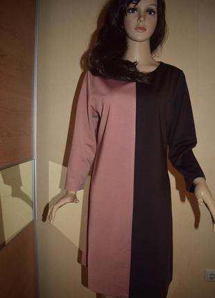 Платье демисезонное платье миди деловое платье