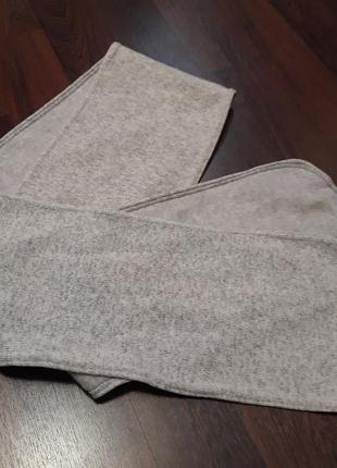 Теплый шарф от tcm чибо германия размер 177см.×20см.