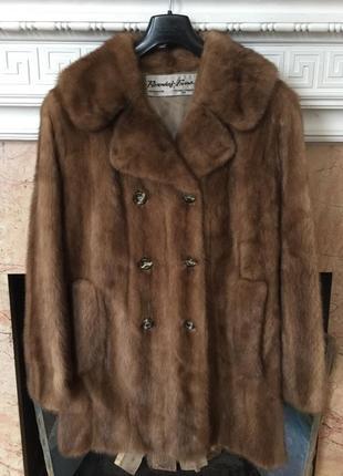 Норковая шуба пальто р. 50