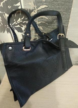 Деловая сумка из натуральной кожи.