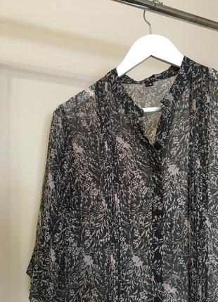 Блуза с принтом от vero moda