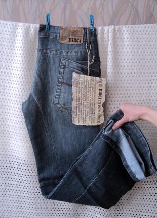 Легкие мужские джинсы vinci турция w29-30 l34, демисезон, лето