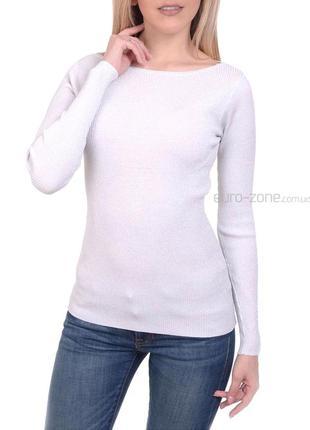 Sale. великолепные пуловеры в рубчик с люрексом. европа