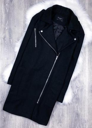 Круте пальто-косуха від дорогого бренду brave soul (asos)