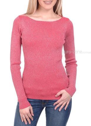 Великолепные пуловеры в рубчик с люрексом