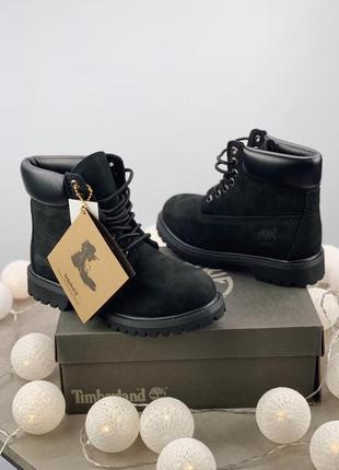 Надежные ботинки с теплым натуральным мехом внутри (36-41)