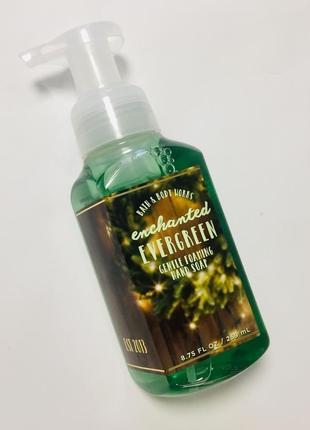 """Мыло пенка для рук, аромат хвойного леса и цитруса """"enchanted evergreen"""", оригинал сша"""