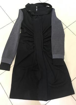 Стильное трикотажное платье французского бренда cop copine
