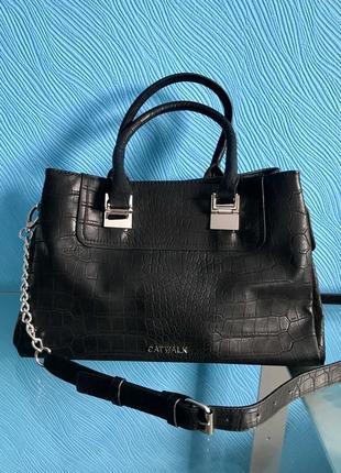Новая шикарная сумка catwalk