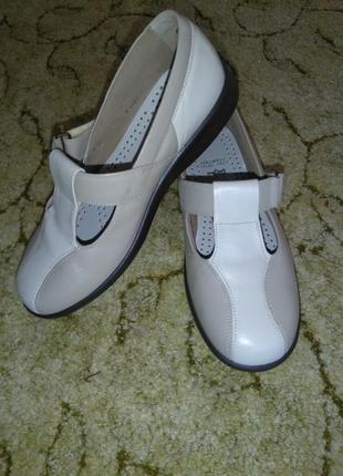 Женские кожаные туфли easy b (англия)