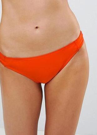 Низ от купальника раздельного трусики женские плавки размер 46-48 / 14 бикини оранжевые