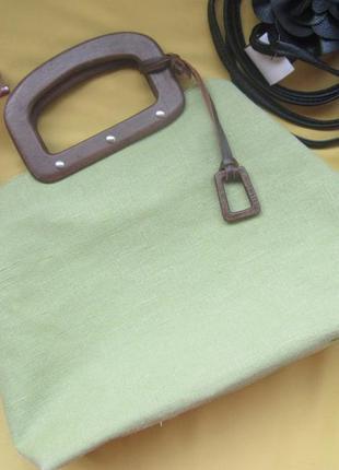 Новая стильная яркая сумка nine west из текстиля,сток