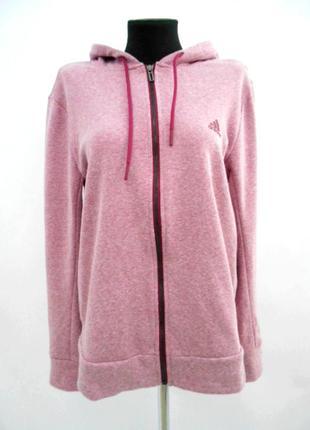 Толстовка розовая adidas