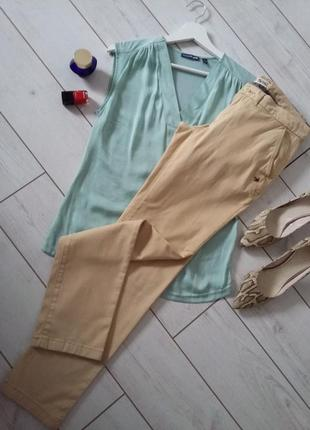 Стильные брюки чиносы песочный цвет tommy hilfiger...#00292