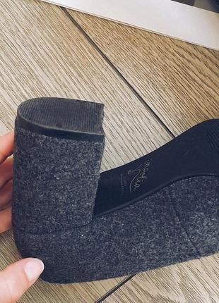 Стильные туфельки на низком каблуке5