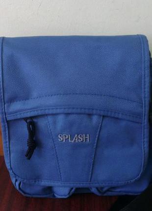 Мужская сумка через плечо полиэстер, splash