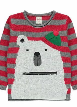 Мягкий свитерок 2-4 года джордж