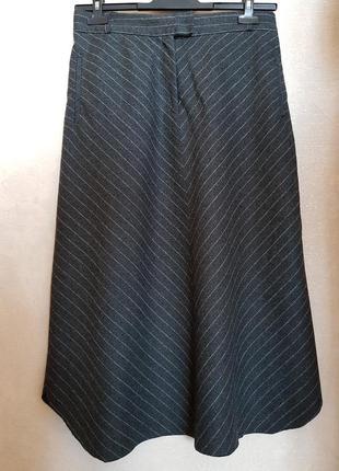 Стильная элегантная шерстяная юбка isabel marant, оригинал!
