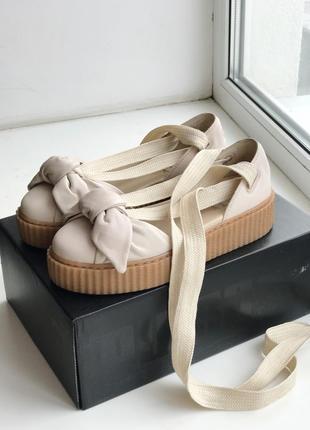 Балетки сандалии puma x fenty