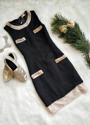 Плаття luc.ce з стильним золотим декором