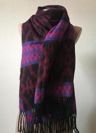 Тёплый шарф, палантин, тёплый платок