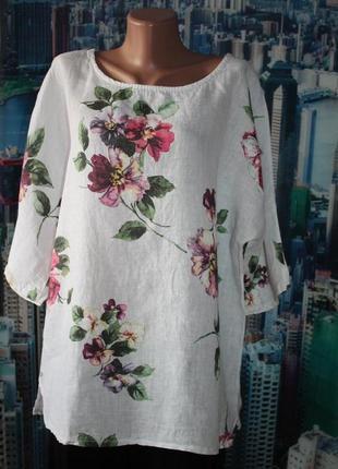 Блуза  100 % лен