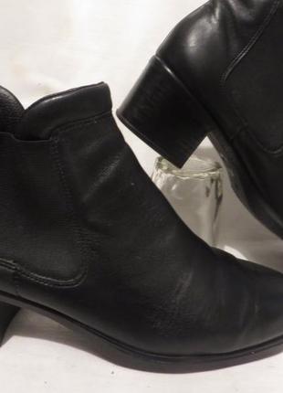 Ботинки кожа германия rieker 40,5 размер