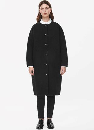 """Пальто оверсайз """"cos"""", размер указан xs, но большемерит на s-m."""