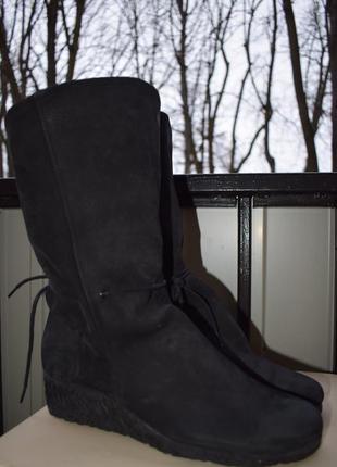 Кожаные сапоги ботинки арче arche франция р.39 25 см