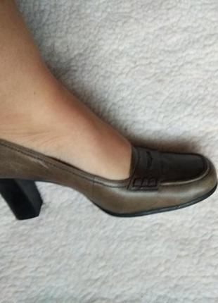 Красивые добротные кожаные удобные туфли marc o polo , 28,5 см