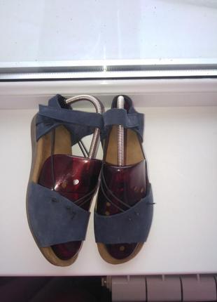 Кожаные босоножки /сандалии gabor hovercraft