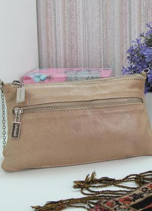 Очаровательная сумка blaque, аргентина, овечья кожа