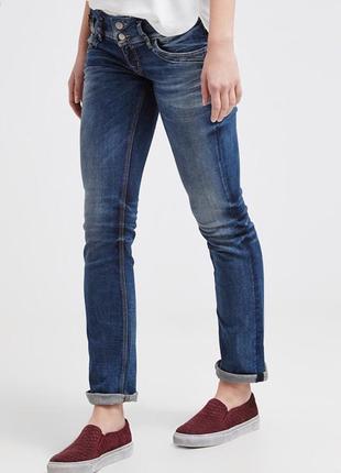 Тренд!прямые укорочённые джинсы ltb,28,29р