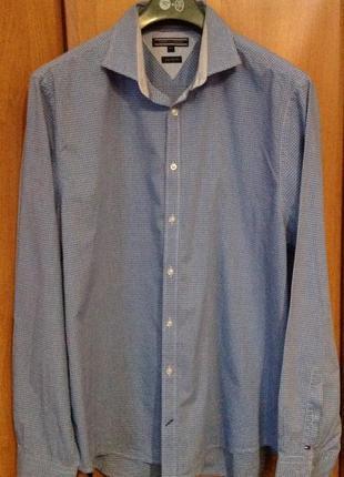 Рубашка мужская tommy hilfiiger p. xxl