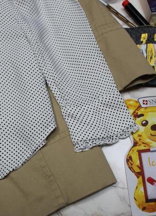 Обнова! рубашка блуза в горох с бантом галстуком с рюшами mango3