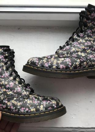 Dr martens 1460w 39p кожаные ботинки оригинал