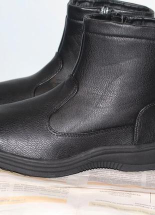 Утепленные полу ботинки force 39-40. новые