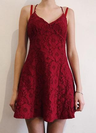 Кружевное платье от forever 21
