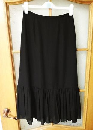 Шикарная юбка миди плиссе, р. 44 италия