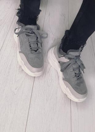 Зимние кроссовки, сапоги , с мехом , зима