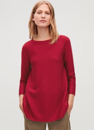 Джемпер /кофта/свитер cos 100  хлопок s