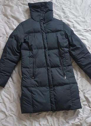 Стильна тепла куртка пуховик columbia