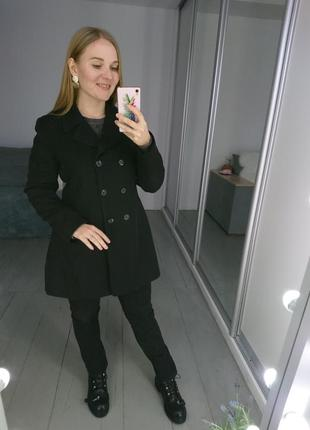Актуальный удлиненный двубортный пиджак блейзер жакет