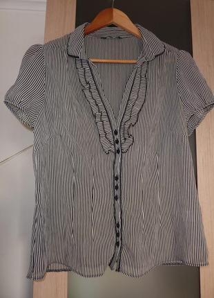 Красивая, стильная, блуза-рубашка f&f
