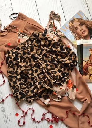 Трендовые леопардовые шорты атм