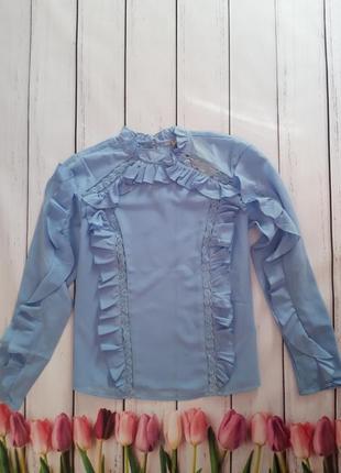 Блуза с оборками asos,р-р 8