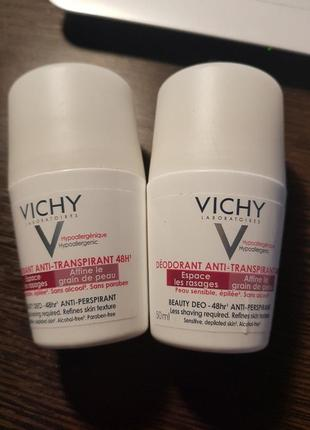 Дезодорант замедляющий рост волос beauty deo anti-transpirant 48h, vichy