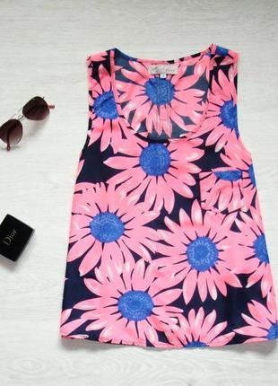 Яркая блуза cameo rose