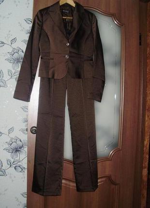 Gino angelli roma (38) женский деловой костюм тройка