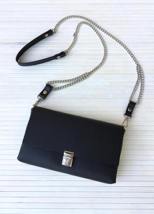 Міні сумочка - клатч, ручная работа, натуральна шкіра